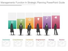 Managements Function In Strategic Planning Powerpoint Guide