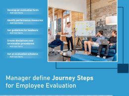 Manager Define Journey Steps For Employee Evaluation