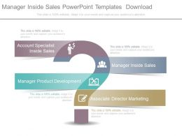 Manager Inside Sales Powerpoint Templates Download