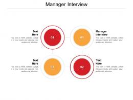 Manager Interview Ppt Powerpoint Presentation Show Portrait Cpb