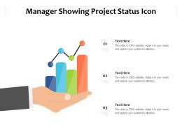 Manager Showing Project Status Icon