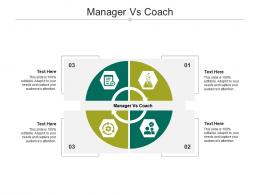 Manager Vs Coach Ppt Powerpoint Presentation Layouts Mockup Cpb