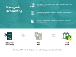 Managerial Accounting Ppt Powerpoint Presentation Professional Deck Cpb