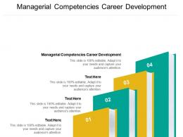 Managerial Competencies Career Development Ppt Powerpoint Presentation Summary Graphics Template Cpb