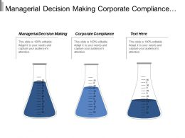 Managerial Decision Making Corporate Compliance Organizational Behaviour Leadership Cpb