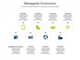 Managerial Economics Ppt Powerpoint Presentation Ideas Background Cpb
