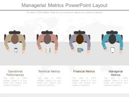 Managerial Metrics Powerpoint Layout