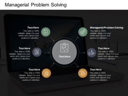 Managerial Problem Solving Ppt Powerpoint Presentation Infographic Template Introduction Cpb