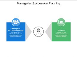 Managerial Succession Planning Ppt Powerpoint Presentation Pictures Template Cpb