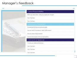 Managers Feedback Current Responsibilities Ppt Powerpoint Presentation Infographics