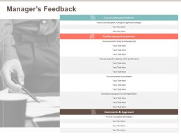 Managers Feedback Future Goals Ppt Powerpoint Presentation Icon Model