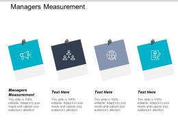 Managers Measurement Ppt Powerpoint Presentation Icon Background Images Cpb