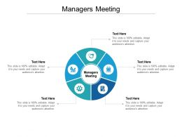 Managers Meeting Ppt Powerpoint Presentation Ideas Layouts Cpb