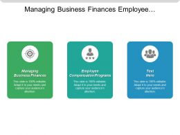 Managing Business Finances Employee Compensation Programs Corporate Responsibility Ethics Cpb