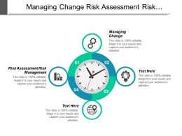 Managing Change Risk Assessment Risk Management Development Plan Cpb