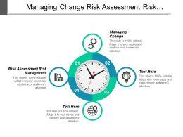 Managing Change Risk Assessment Risk Management Development Plan Cpb