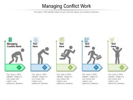 Managing Conflict Work Ppt Powerpoint Presentation Graphics Cpb