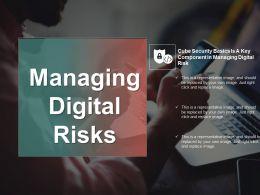 Managing Digital Risks PowerPoint Graphics