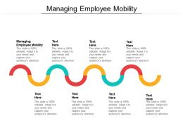 Managing Employee Mobility Ppt Powerpoint Presentation Summary Outfit Cpb