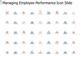 Managing Employee Performance Icon Slide Strategy I281 Ppt Powerpoint Presentation Layout