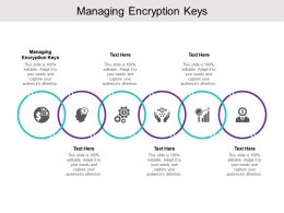 Managing Encryption Keys Ppt Powerpoint Presentation Outline Information Cpb