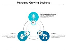 Managing Growing Business Ppt Powerpoint Presentation Inspiration Graphics Cpb