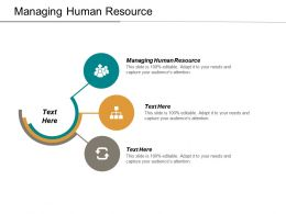 Managing Human Resource Ppt Powerpoint Presentation Model Slides Cpb