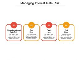 Managing Interest Rate Risk Ppt Powerpoint Presentation Infographics Slide Download Cpb