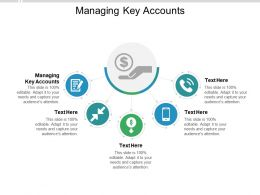 Managing Key Accounts Ppt Powerpoint Presentation Layouts Diagrams Cpb