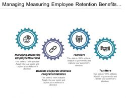 Managing Measuring Employee Retention Benefits Corporate Wellness Programs Statistics Cpb