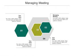 Managing Meeting Ppt Powerpoint Presentation Show Objects Cpb