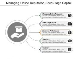 Managing Online Reputation Seed Stage Capital Business Performance Cpb
