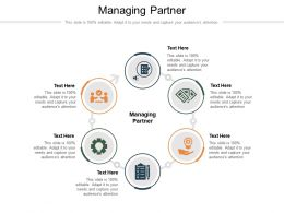 Managing Partner Ppt Powerpoint Presentation Show Icons Cpb