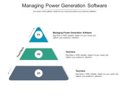 Managing Power Generation Software Ppt Powerpoint Presentation Visual Cpb