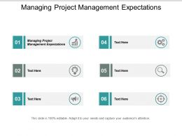 Managing Project Management Expectations Ppt Powerpoint Presentation Portfolio Information Cpb