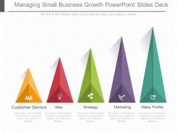Managing Small Business Growth Powerpoint Slides Deck