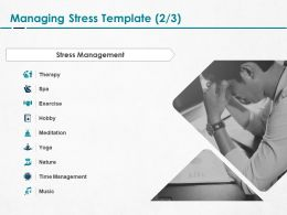 Managing Stress Meditation Ppt Powerpoint Presentation Pictures