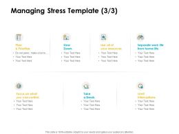 Managing Stress Prioritize Ppt Powerpoint Presentation Infographics