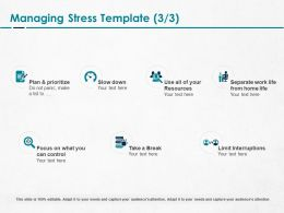 Managing Stress Resources Ppt Powerpoint Presentation Pictures
