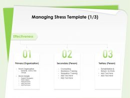 Managing Stress Template Relaxation Training Ppt Powerpoint Presentation Templates