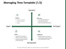 Managing Time Template Planned Meticulously Ppt Powerpoint Presentation Gallery