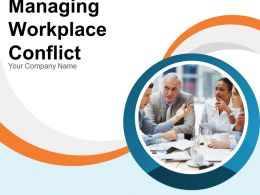 Managing Workplace Conflict Powerpoint Presentation Slides