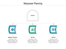 Manpower Planning Ppt Powerpoint Presentation Professional Samples Cpb