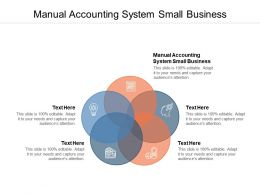 Manual Accounting System Small Business Ppt Powerpoint Layouts Aids Cpb