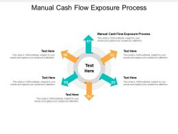 Manual Cash Flow Exposure Process Ppt Powerpoint Professional Graphic Tips Cpb