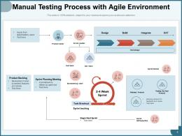 Manual Testing Process Requirement Planning Analytics Execution Strategy