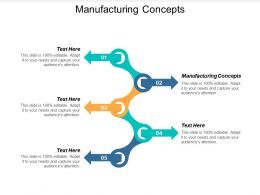 Manufacturing Concepts Ppt Powerpoint Presentation Slides Background Designs Cpb