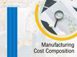 Manufacturing Cost Composition Powerpoint Presentation Slides