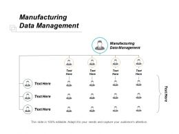 Manufacturing Data Management Ppt Powerpoint Presentation Inspiration Professional Cpb