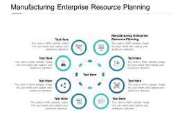 Manufacturing Enterprise Resource Planning Ppt Powerpoint Examples Cpb